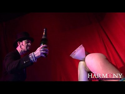 Hardcore Fingering Toys video: HARMONY VISION Anal Expert Champagne Openner