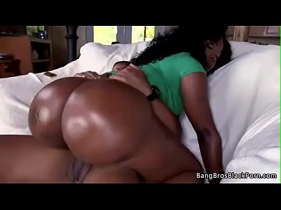 Black booty chick loves to ride