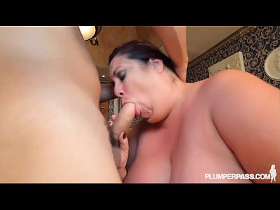 Milf Mom video: Busty BBW Grandma Fucks Latin Stud