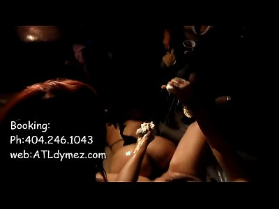 Atlanta Strippers exotic Dancer baby oil shows ATLdymez.com for booking