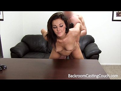 Anal Assfuck Backroom video: Petite Amateur Ass Fucked For Modeling Job