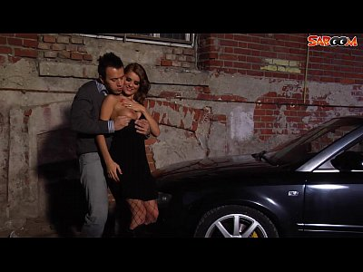 Blowjob Car Dick video: Car Sex in Alley