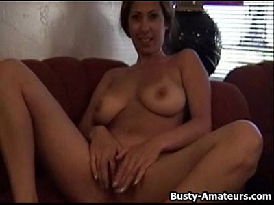 Bigtits Boobs Bustyamateurs video: Busty amateur Lilli masturbates on her first audition