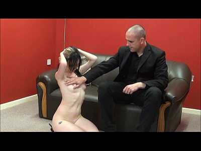 Spanking Ass Slave video: Faes bare ass spanking and corporal punishment of striped amateur slave in sever