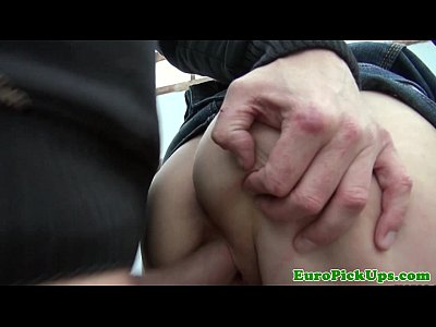 Blonde Blowjob Cocksucking video: Euro amateur fucks and sucks for cash