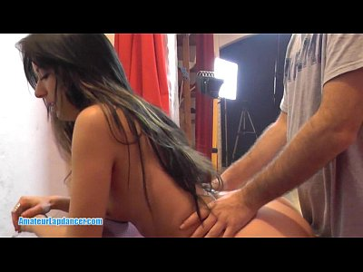 Amateur Beginner Czech video: Delicious dark haired teen pounded hard in doggy style