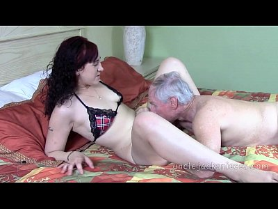 Blowjob Cumshot Cocksucking video: Playtime for the Lady with Lady Italy and Jack Moore as Uncle Jack