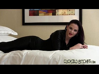 Bdsm Cheating Cuckold video: Watch me get hammered by a real man