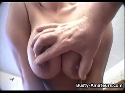 Fingering Masturbating Masturbation video: Busty Gabriella playing her pussy with dildo