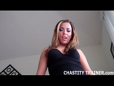 Chastity Chastitydenial Chastityhandjob video: You don't get to cum unless I say so