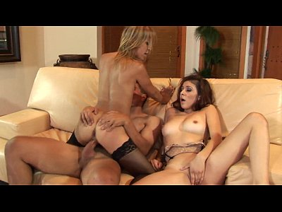 Blonde Asian gal enjoys being in a wild kinky threesome