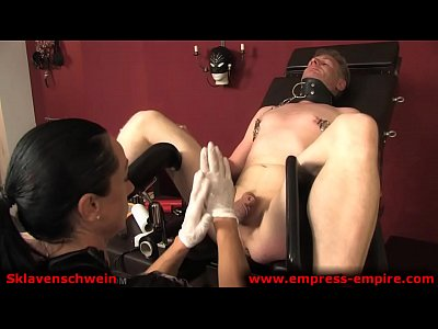Strapon Femdom Nurse video: EMPRESS EMPIRE presents Sklavenschwein