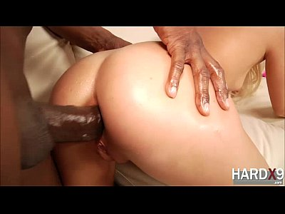 Blowjob Cumshot European video: Gorgeous French blonde Jessie Volt gets pounded in wild sex by a black cock