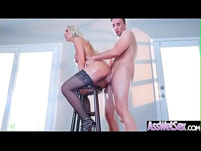 (Kenzie Taylor) Big Oiled Ass Girl Like Deep Anal Hardcore Bang vid-20