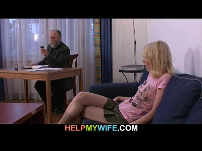Cuckold Czech Dad video: Old husband pays a stranger to nail her young wife