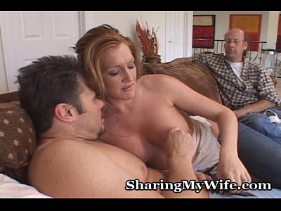 Cuckold Blowjob Redhead video: Juicy Pussy Of Hot Wife Fucked By New Guy