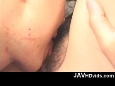 Rio Nakumara gets a bunch of pussy pleasure from a friend