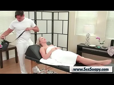 Sexy Bailey Brooke enjoys massage
