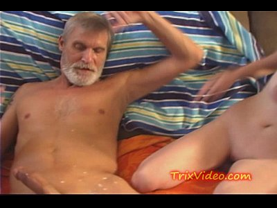Teen Brunette movie: Daddy Drinks Daughters MILK