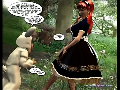 3D Comic: Wonderland. Episode 1