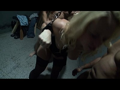 Milf Slave Groupsex video: Chained and Gang Banged