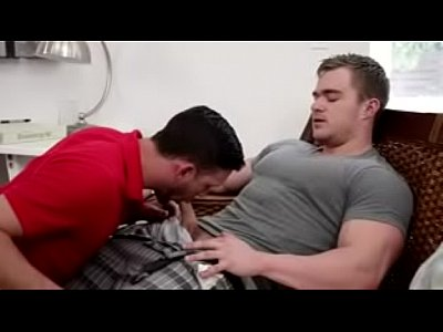 Bodybuilder Straight fuck his friend