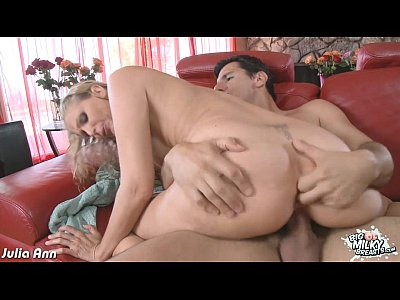 Blonde Blowjob Pornstar video: Busty Julia Ann fuck a big cock