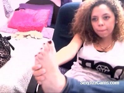 Compilation of Feet Fetish on Cam