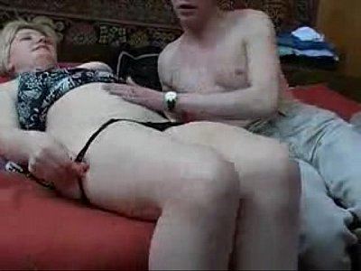 Cumshot Family Forbidden video: Old mom with from Russia