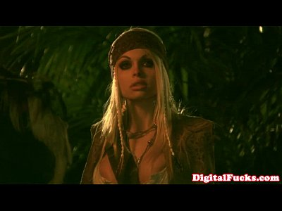 Funny Group Blonde video: Abbey Brooks stars in pirate ship orgy