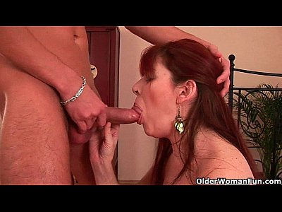Cumshots Milf movie: Grandma needs a cum load today