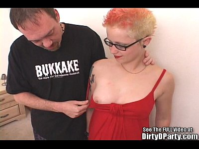 Dildo Pussy Cunt video: Underground Punk Slut Fucks Cock and Toy