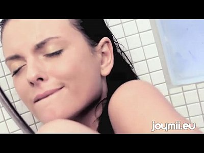 Benz Czech Erotica video: Joymii Monika Benz Orgasms From Masturbating With Shower Head