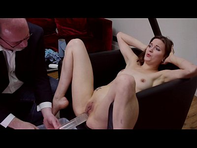 Bondage Enema video: Syringed In The Chair Part 2