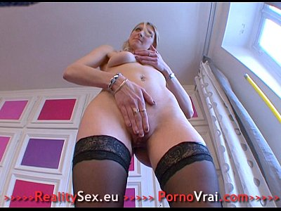Mature tres excitee jouie plein de fois ! French amateur