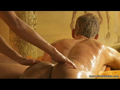 Massage Lovers Intimate video: Blonde MILF Turkish Massage Love