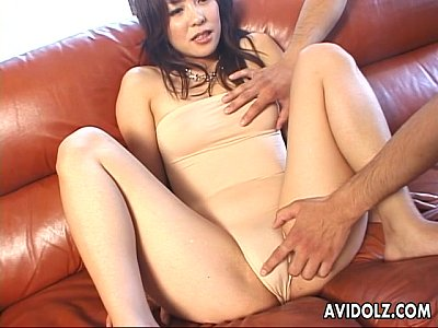 Asian Japanese Tits video: Gorgeous Japanese chick in a wild MMF threesome