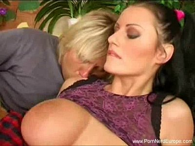 Russian Brunettes Czech video: Giant Tits Romanian MILF Fucked Hard