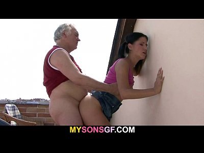 Cheat Cuckold Czech video: Horny father fucks his son's girlfriend