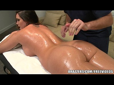 Tits Boobs Brunette video: Brazzers - Alison Tyler gets all oiled up
