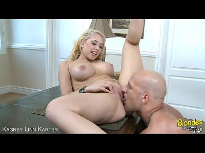 Tits Pov Blonde video: Blonde Kagney Linn Karter fucking