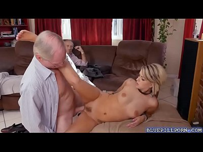 Horny babe getting a huge large cock