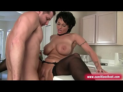 Boobs Black Milf video: big boobs sexy milf lingerie sarah sunshine seiber