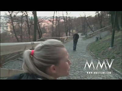 Hardcore Teen Blonde video: MMV Films German teen gets picked up and fucked
