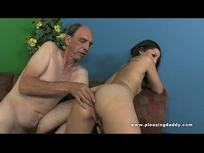 Hardcore Blowjob Brunette video: Lexy Veracruz Fucks A Grandfather