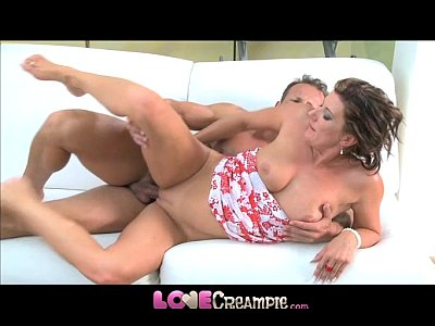 Milf Mom Creampies video: Love Creampie Hot mom gets the fuck of her life and multiple orgasms