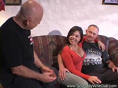 Cuckold Fucking Hotwife video: Swinger Fantasy Is Finally Fulfilled