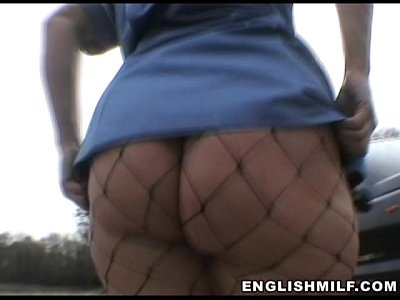 Public Milf Nurse vid: British pawg Daniella English milf big ass walk