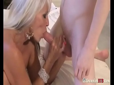 Super Hot GILF Blonde Forces A Young Sissy Boy ...