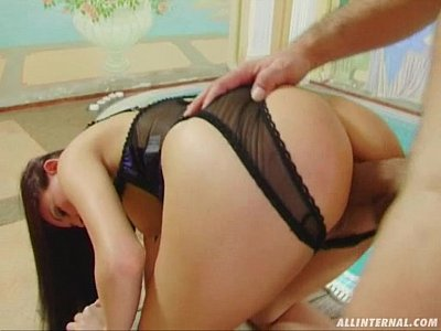 Anal Hardcore Squirting video: All Internal Insane anal and milk squirting dominate this scene